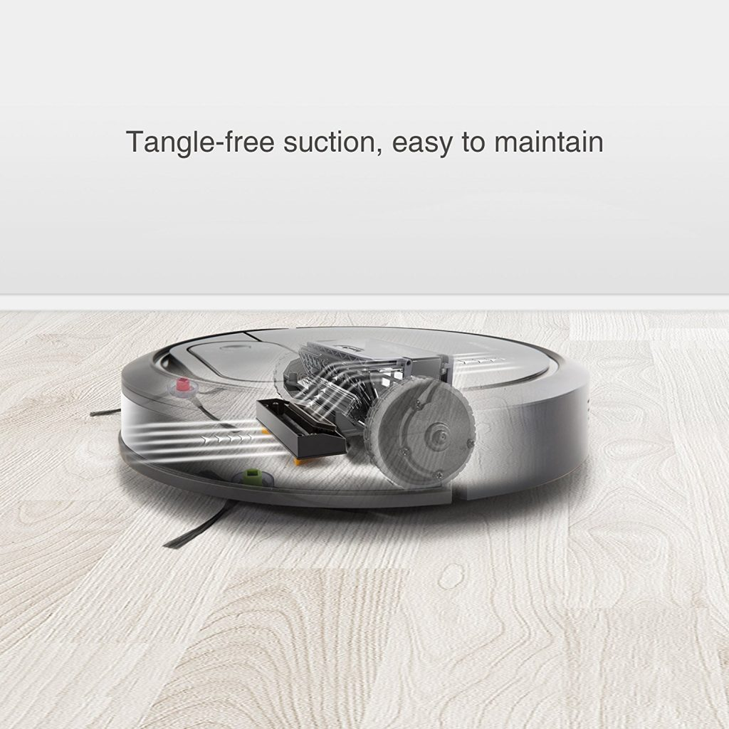 EcoVac, DeeBot N78, Vacuum Fanatics, Reviews and Comparisons, Automatic Vacuum Cleaners, tangle-free