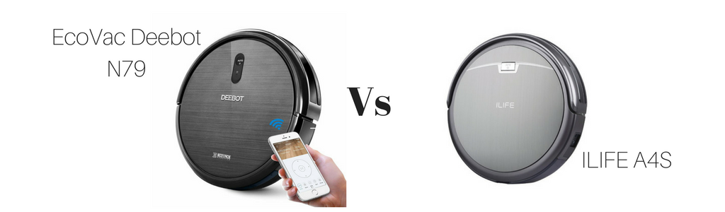 DeeBot N79 vs ILIFE A4S, Vacuum Fanatics, Reviews and Comparisons of Robotic Cleaners