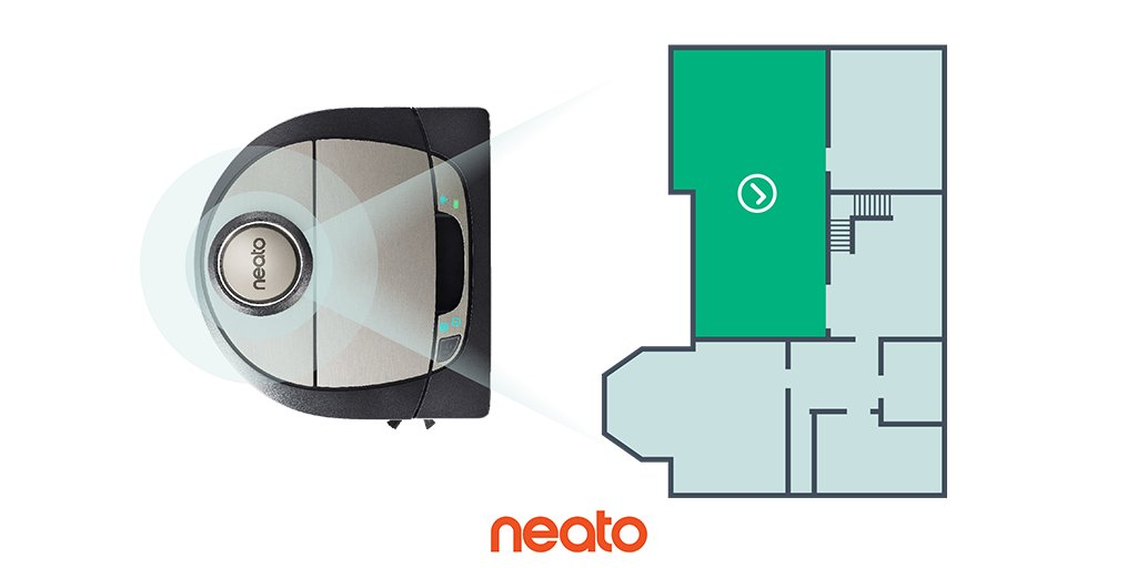 Neato D7 with Zone Cleaning