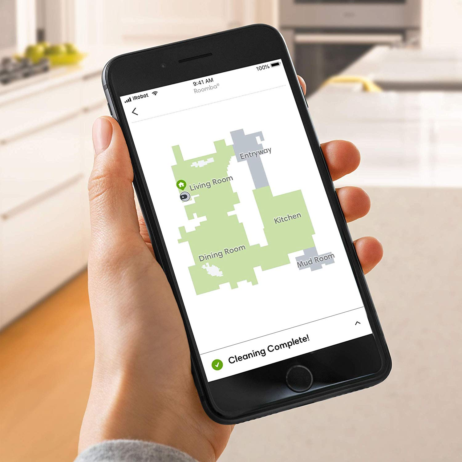 Roomba i7 Imprint Smart Maps Know where to go