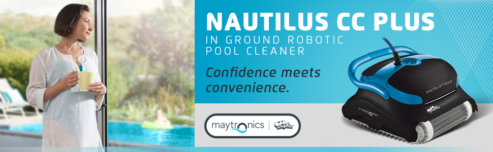 Dolphin Nautilus CC Pluse Best Robotic Pool Cleaner
