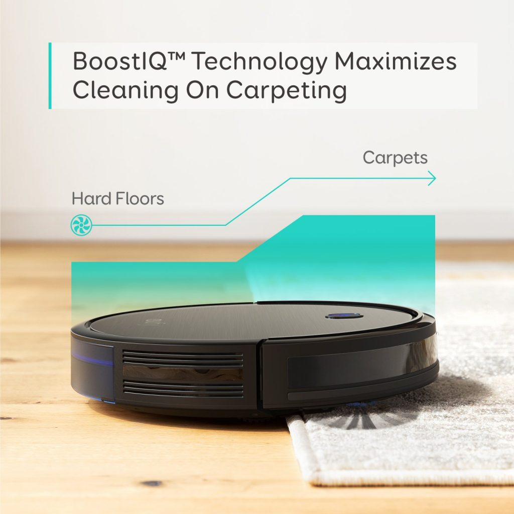 eufy BoostIQ RoboVac 11S (Slim), Robot Vacuum Cleaner BoostIQ Tech for Carpeting